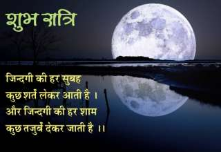 शुभ रात्रि / good night message 19 – good night photo